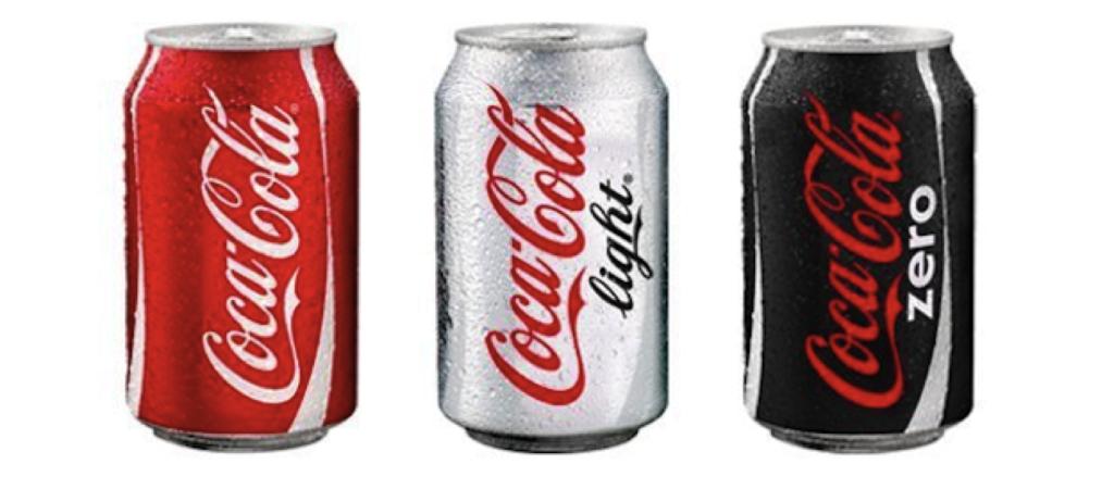 Rouge et Noir de Coca Cola