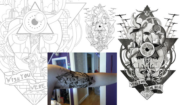 Tattoo-Design von 99er Floyd