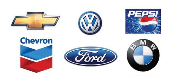 Logo-Designs von 2000 bis 2005